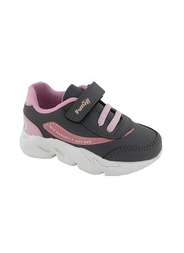 Necix's Funny Bebek Cırtcıtlı Spor Ayakkabı-Lacivert Funny Bebek Cırtcıtlı Spor Ayakkabı-Lacivert Gri